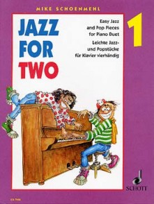 SCHOENMEHL M. JAZZ FOR TWO PIANO 4 MAINS