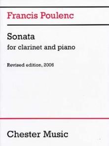 POULENC F. SONATA CLARINETTE