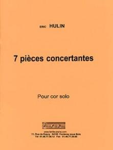 HULIN E. PIECES CONCERTANTES COR
