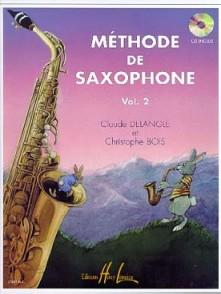 DELANGLE C./BOIS C. METHODE VOL 2 SAXOPHONE ALTO + CD