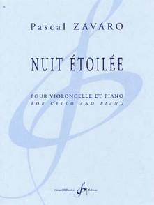 ZAVARO P. NUIT ETOILEE VIOLONCELLE