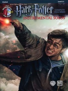 POTTER HARRY INSTRUMENTAL SOLOS CLARINETTE