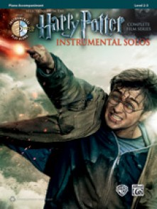 POTTER HARRY INSTRUMENTAL SOLOS ACCOMPAGNEMENT PIANO
