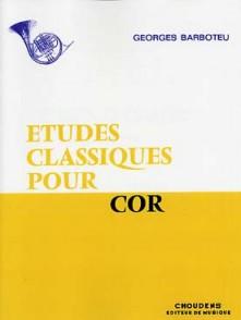 BARBOTEU G. ETUDES CLASSIQUES COR