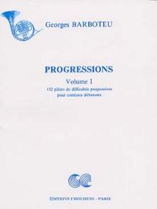 BARBOTEU G. PROGRESSIONS VOL 1 COR