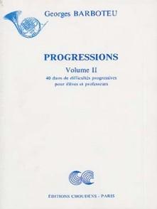 BARBOTEU G. PROGRESSIONS VOL 2 CORS