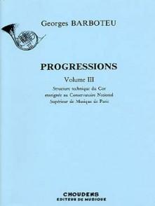 BARBOTEU G. PROGRESSIONS VOL 3 COR