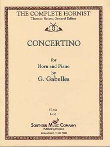 GABELLES G. CONCERTINO COR