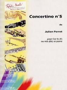 PORRET J. CONCERTINO N°5 COR