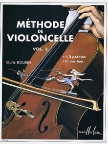 BOURIN O. METHODE DE VIOLONCELLE VOL 3