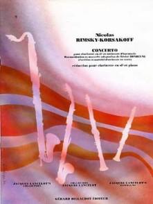 RIMSKY-KORSAKOFF N. CONCERTO CLARINETTE
