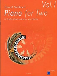 HELLBACH D. PIANO FOR TWO VOL 1