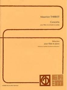 THIRIET M. CONCERTO FLUTE