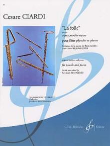 CIARDI C. LA FOLLE OP 64 FLUTE PICCOLO