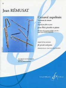 REMUSAT J. CARNAVAL NAPOLITAIN OP 40 FLUTE
