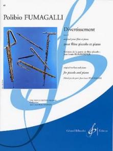FUMAGALLI P. DIVERTISSEMENT FLUTE PICCOLO
