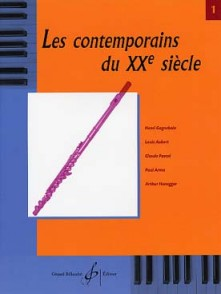 CONTEMPORAINS DU 20ME SIECLE VOL 1 FLUTE
