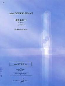 DEMERSSEMAN J. SIMPLICITE OP 28 N°2 FLUTE