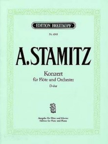 STAMITZ A. CONCERTO RE MAJEUR FLUTE