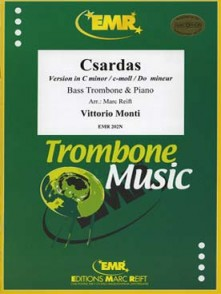 MONTI V. CZARDAS TROMBONE BASSE