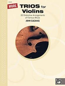CACAVAS J. MORE TRIOS FOR VIOLINS