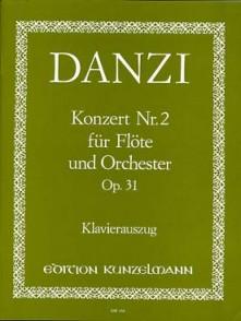 DANZI F. CONCERTO N°2 OP 31 FLUTE