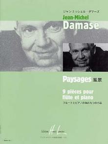 DAMASE J.M. PAYSAGE FLUTE