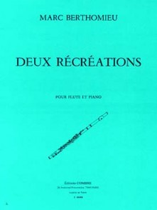 BERTHOMIEU M. RECREATIONS FLUTE