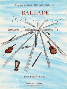 GALLOIS-MONTBRUN R. BALLADE FLUTE