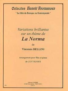 BELLINI V. VARIATIONS SUR UN THEME DE LA NORMA FLUTE
