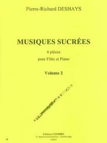 DESHAYS P.R. MUSIQUES SUCREES VOL 2 FLUTE