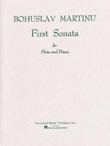 MARTINU B. FIRST SONATA FLUTE