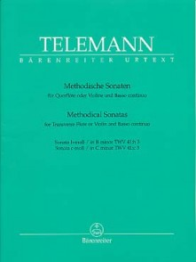 TELEMANN G.P. METHODICAL SONATAS VOL 4 FLUTE