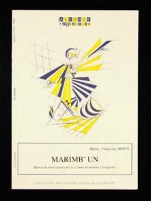 BONIN M.F. MARIMB'UN MARIMBA