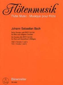 BACH J.S. 6 SONATES BWV 525-530 VOL 1 FLUTE