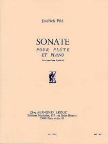 FELD J. SONATE FLUTE