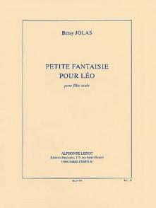 JOLAS B. PETITE FANTAISIE POUR LEO FLUTE SOLO