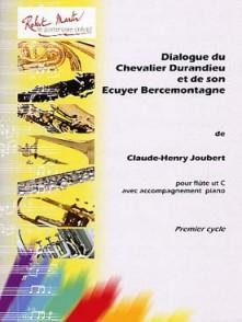 JOUBERT C.H. DIALOGUE DU CHEVALIER DURANDIER FLUTE