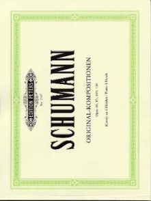 SCHUMANN R. OEUVRES ORIGINALES PIANO 4 MAINS
