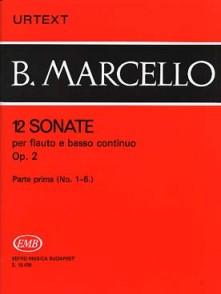 MARCELLO B. 12 SONATES OP 2 VOL 1 FLUTE A BEC