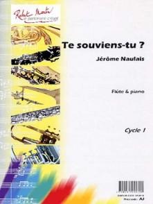 NAULAIS J. TE SOUVIENS-TU? FLUTE