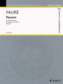 FAURE G. PAVANE FLUTE GUITARE