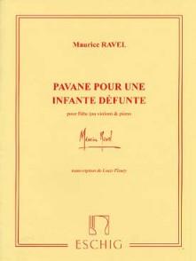 RAVEL M. PAVANE POUR UNE INFANTE DEFUNTE FLUTE