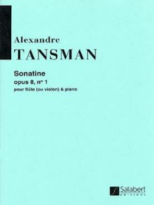 TANSMAN A. SONATINE OP 8 N°1 FLUTE