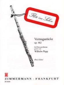 POPP W. VORTRAGSSTUCKE OP 142 FLUTE