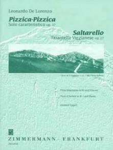 DE LORENZO L. PIZZICA PIZZICA - SALTARELLO FLUTE
