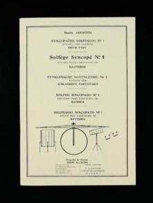 AGOSTINI D. SOLFEGE SYNCOPE VOL 1