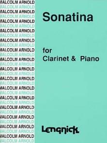 ARNOLD M. SONATINA OP 29 CLARINETTE