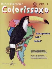 OMBREDANE O. COLORISSAXO VOL 2 SAXOPHONE