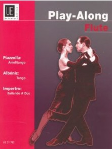 PLAY-ALONG PIAZZOLLA, ALBENIZ, IMPERTRO FLUTE